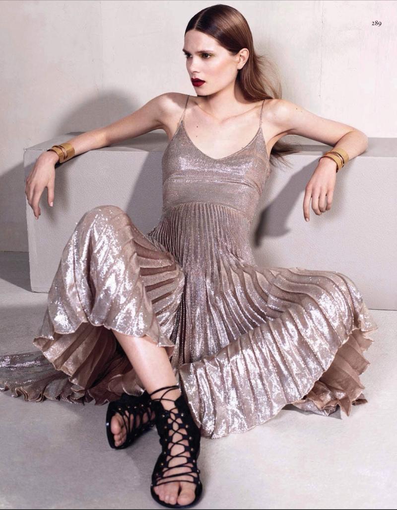 Caroline Brasch Nielsen by Sharif Hamza for Vogue China January 2014