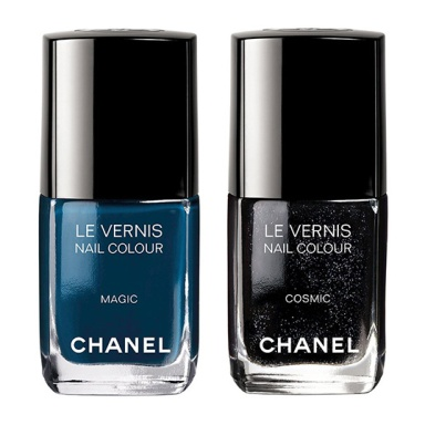 Chanel Nuit Magique Collection nail polishes