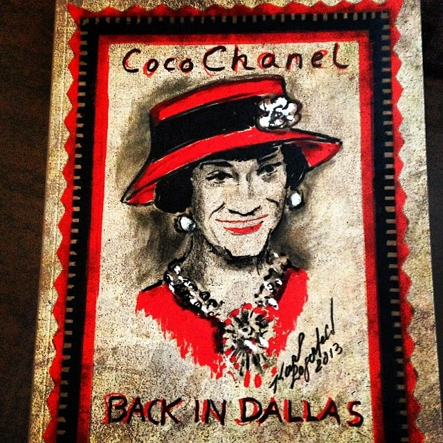 Chanel's Métiers d'Art Paris-Dallas seen on Instagram