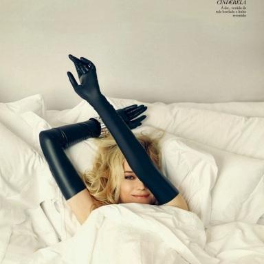 Diane Kruger by Fabio Bartelt for Harper's Bazaar Brasil December 2013