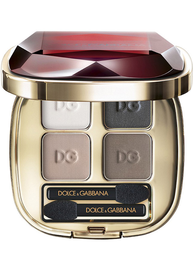 Dolce & Gabbana Ruby Collection Eyeshadow Quad in Femme Fatale