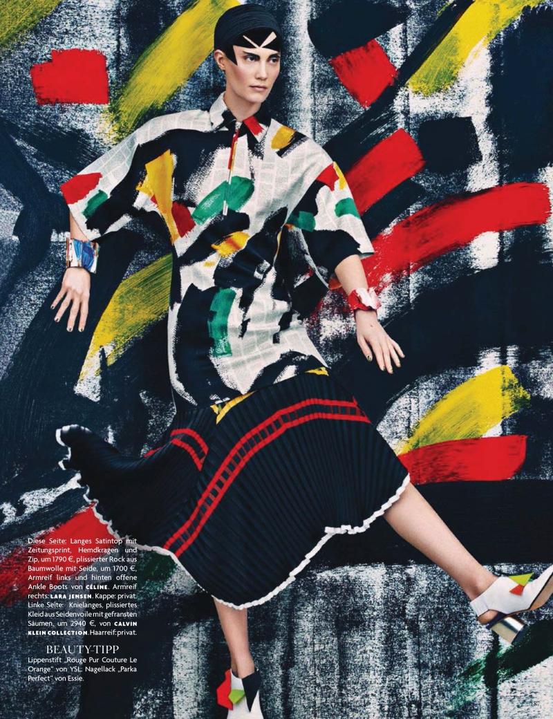 Drake Burnette by Sebastian Kim for Vogue Germany January 2014