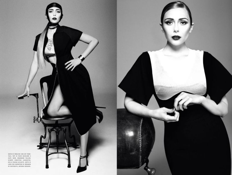 Elizabeth Olsen by Tom Munro for Vogue Italia December 2013