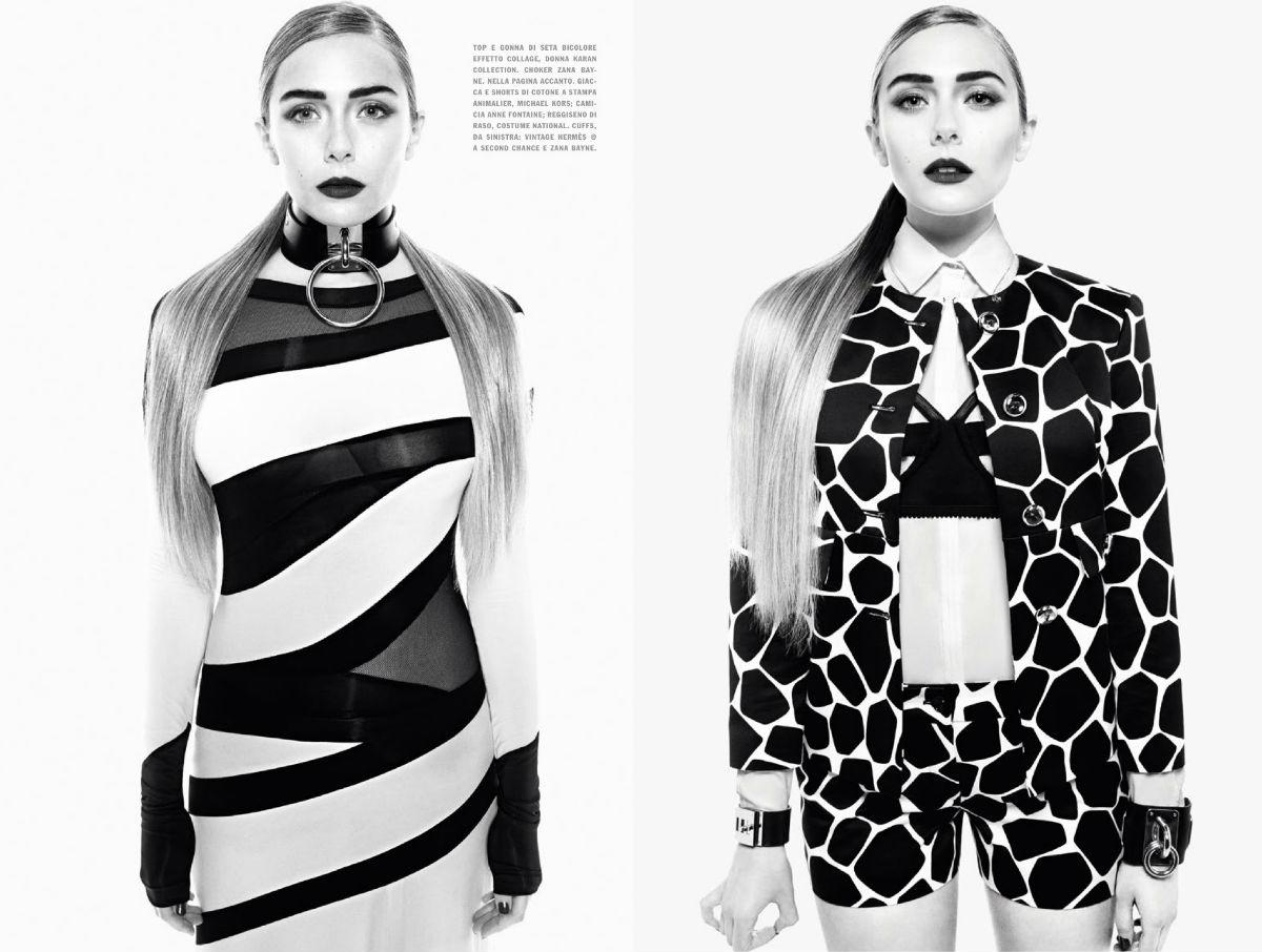 Elizabeth Olsen by Tom Munro for Vogue Italia December 2013