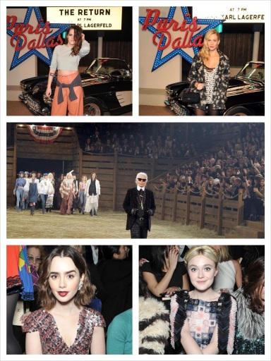Front Row at Chanel Metiers D'Art Paris-Dallas