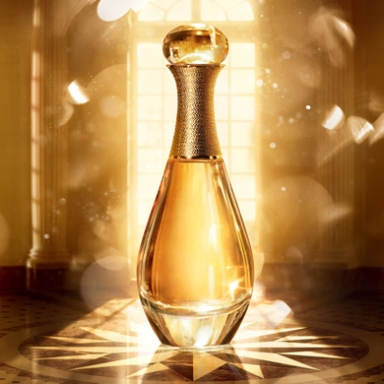 J'adore Dior L'or from Dior's Golden Christmas collection