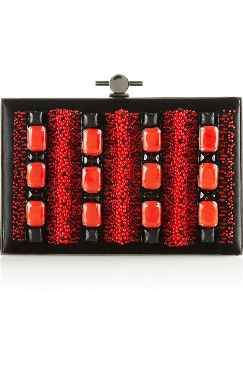 JASON WU Karlie embellished satin box clutch €2,485