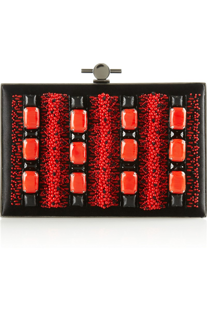 JASON WU Karlie embellished satin box clutch €2,485
