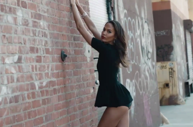 Joan Smalls in Beyoncé new video
