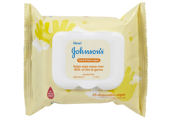 Johnson's Baby Hand and Face Wipes $ 2.49