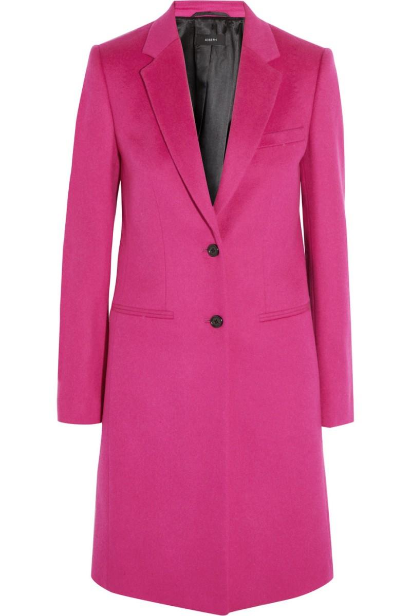 JOSEPH Man wool and cashmere-blend coat €655