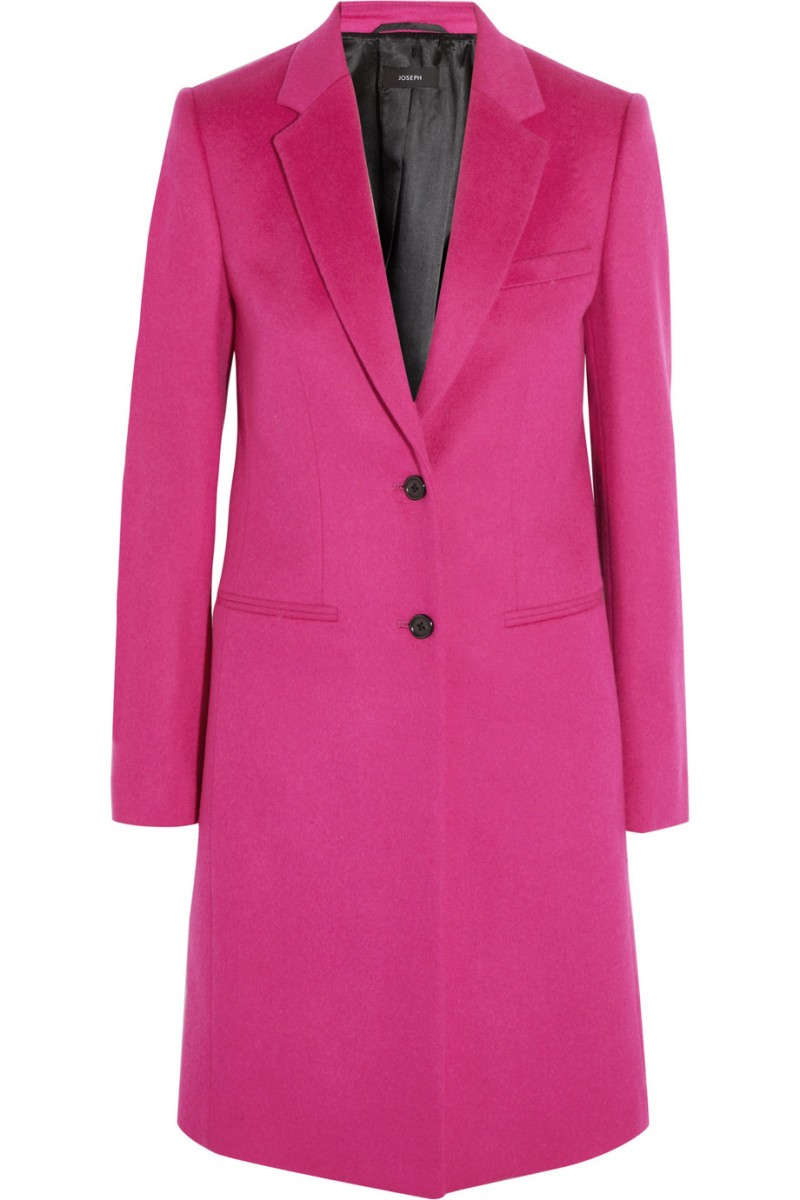 JOSEPH Man wool and cashmere-blend coat €655