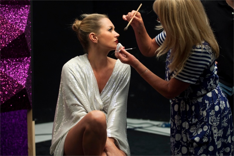 Kate Moss for Rimmel's Out Of This World Christmas 2013 Ad Campaign