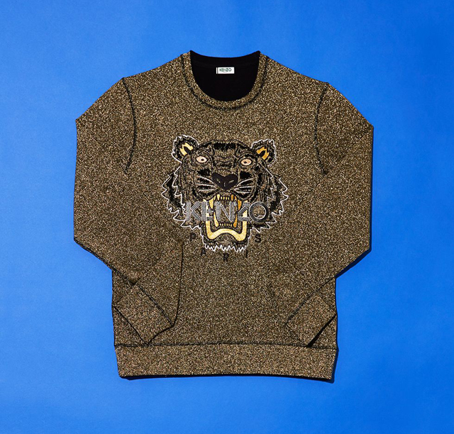 Kenzo's sweatshirts for Christmas 2013