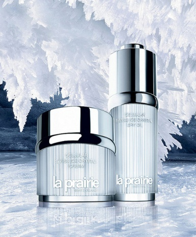 La Prairie Cellular Swiss Ice Crystal Cream, 50ml and La Prairie Cellular Swiss Ice Dry Oil – New,30ml