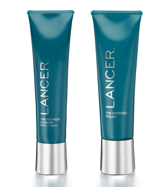 LANCER Exfoliating Blemish Cleanser and Natural Sea Mineral Polish. $50 each