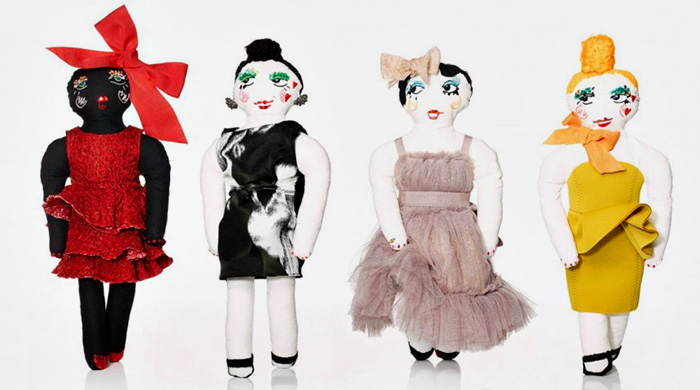 Lanvin's Christmas dolls collection