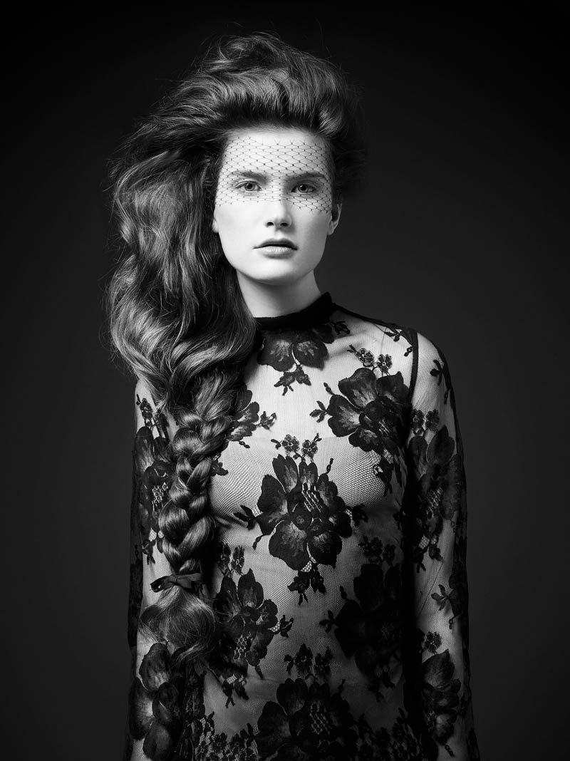 Luigi Mureanu's hairstyle editorial for Vogue Brasil December 2013