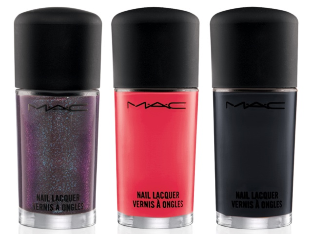 MAC Nail Lacquer in (L-R) Formidable, Impassioned & Nocturnelle ($16 USD / $19 CAD)