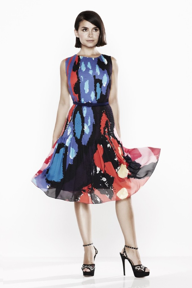 Miroslava Duma for Oscar de la Renta x The Outnet