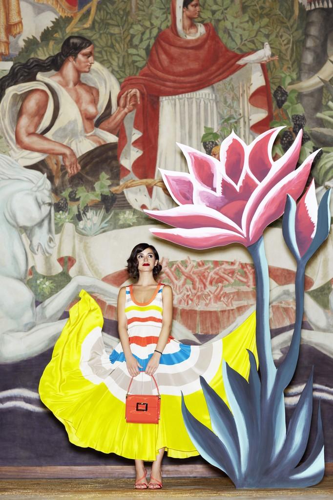 Miroslava Duma for Roger Vivier Spring/Summer 2014 Collection