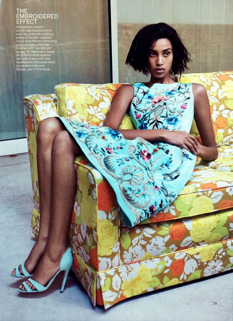 """More is More"" by Craig McDean for Vogue US January 2014"