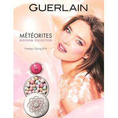 Natalia Vodianova for Guerlain Météorites Blossom Spring 2014 Collection