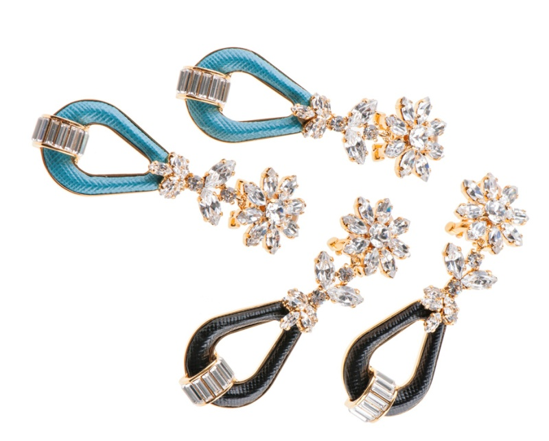 Prada's jewelry collection for spring/summer 2014