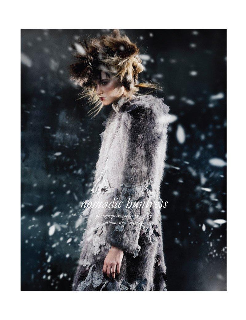 Rachel Finninger by Robert John Kley for Schön Magazine fall 2013