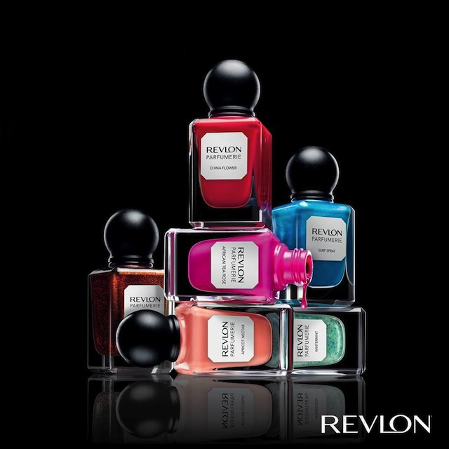 Olivia Wilde For Revlon Parfumerie nail polishes