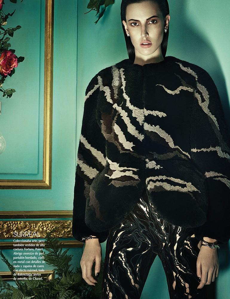 Ruby Aldridge by Thomas Cooksey for Vogue Mexico December 2013