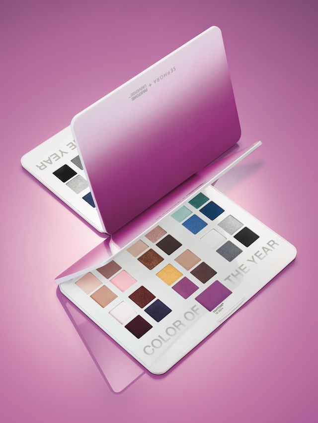 Sephora + Pantone Universe Radiant Orchid collection