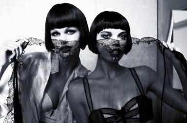 Sexy Boudoir : Glam Cabaret by Ellen von Unwerth for Madame Figaro December 2013 3