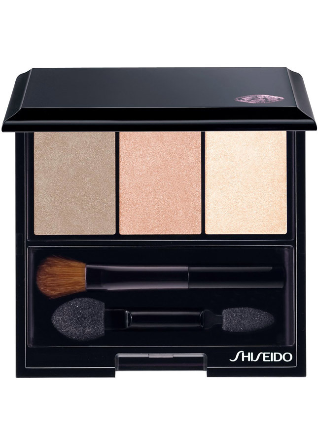 Shiseido Luminizing Satin Eye Colour Trio in Nude