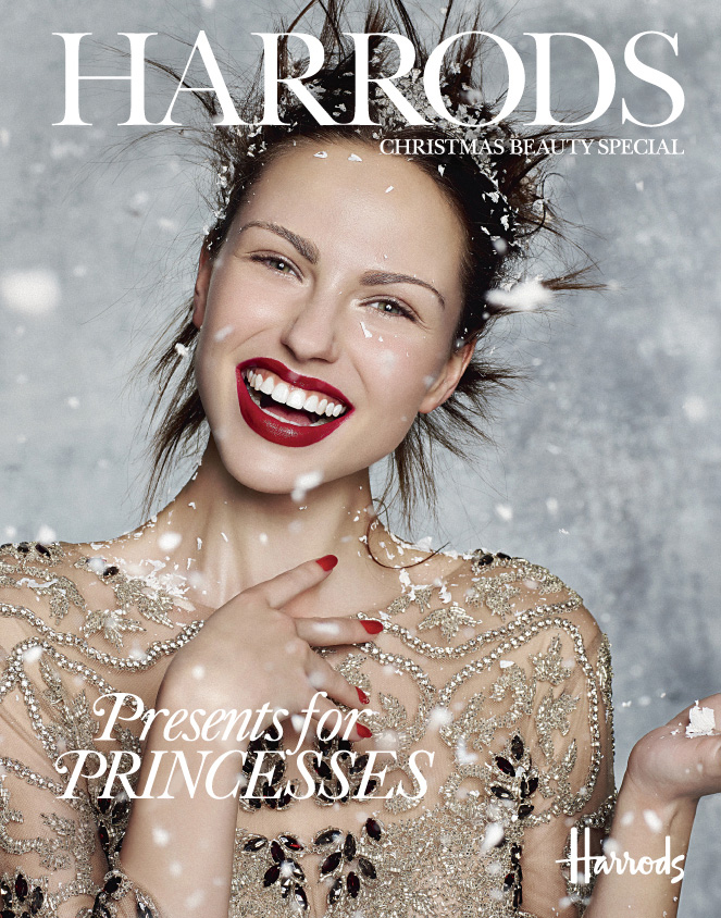 'Snow Queen' By Rui Faria for Harrods Magazine Christmas Beauty Special