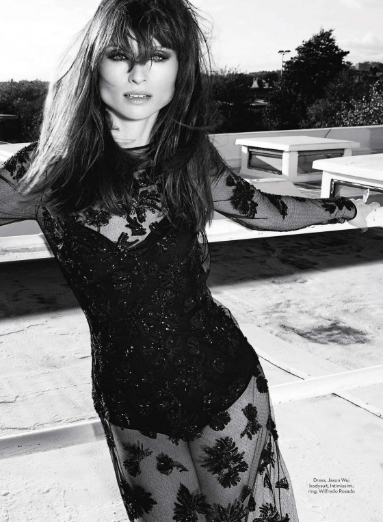Sophie Ellis-Bextor by Daniel Gabbay for Marie Claire UK January 2014