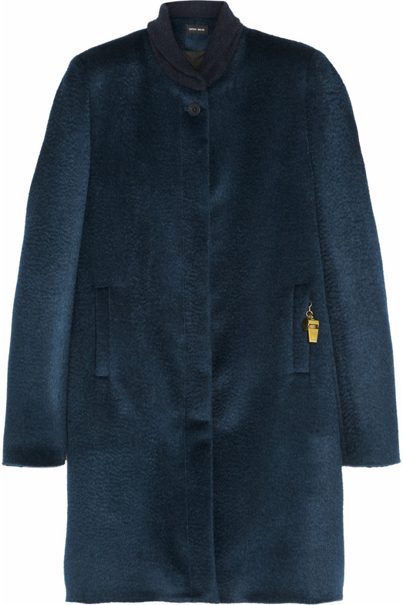 SOPHIE HULME Llama and wool-blend coat €745
