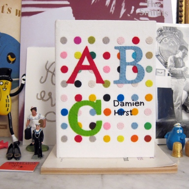 The Damien Hirst ABC clutch-book by Olympia Le-Tan