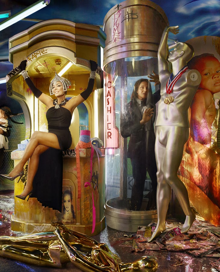 The Kardashians Christmas Card by David LaChapelle 4 | the CITIZENS ...