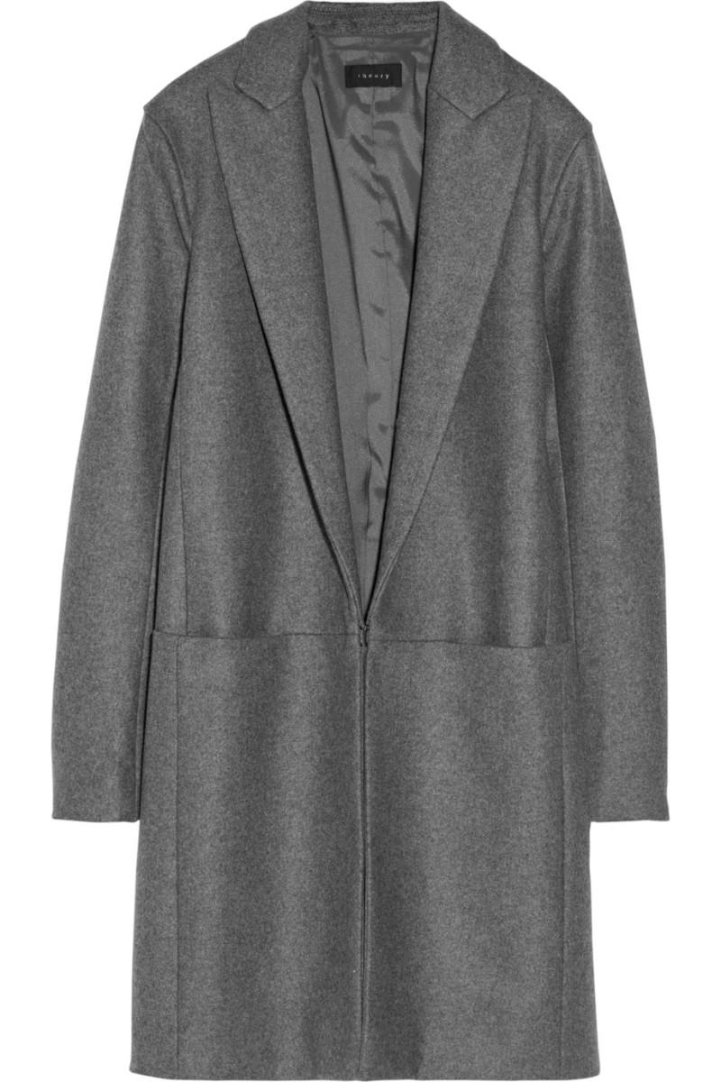 THEORY Elizabeth wool-blend felt coat €826.77