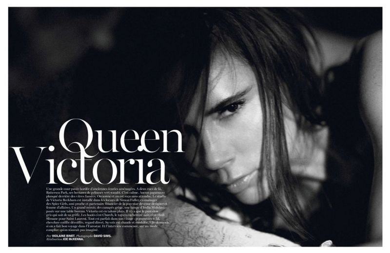 Victoria Beckham by David Sims for Vogue Paris December 2013/January 2014
