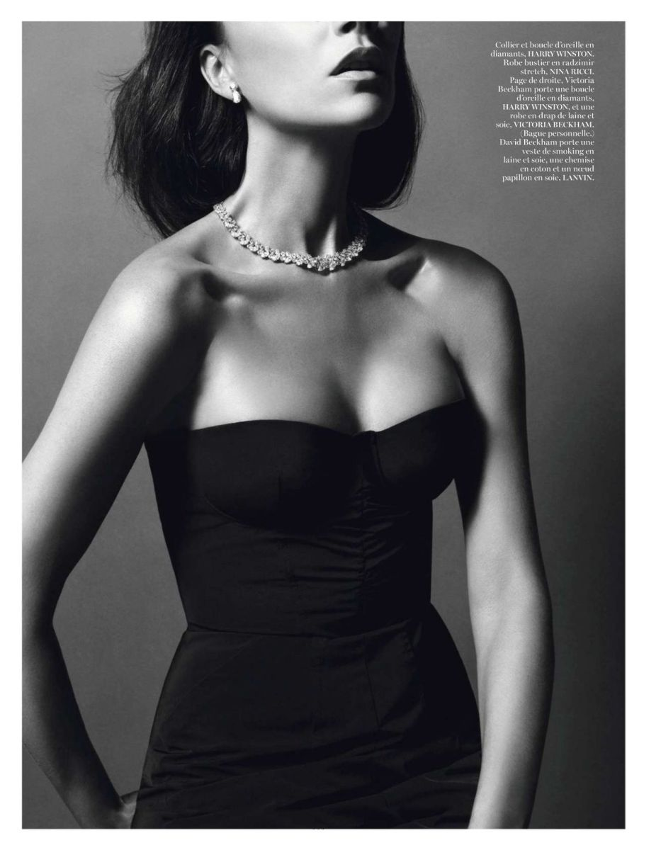 Victoria Beckham by Inez van Lamsweerde & Vinoodh Matadin for Vogue Paris December 2013/January 2014