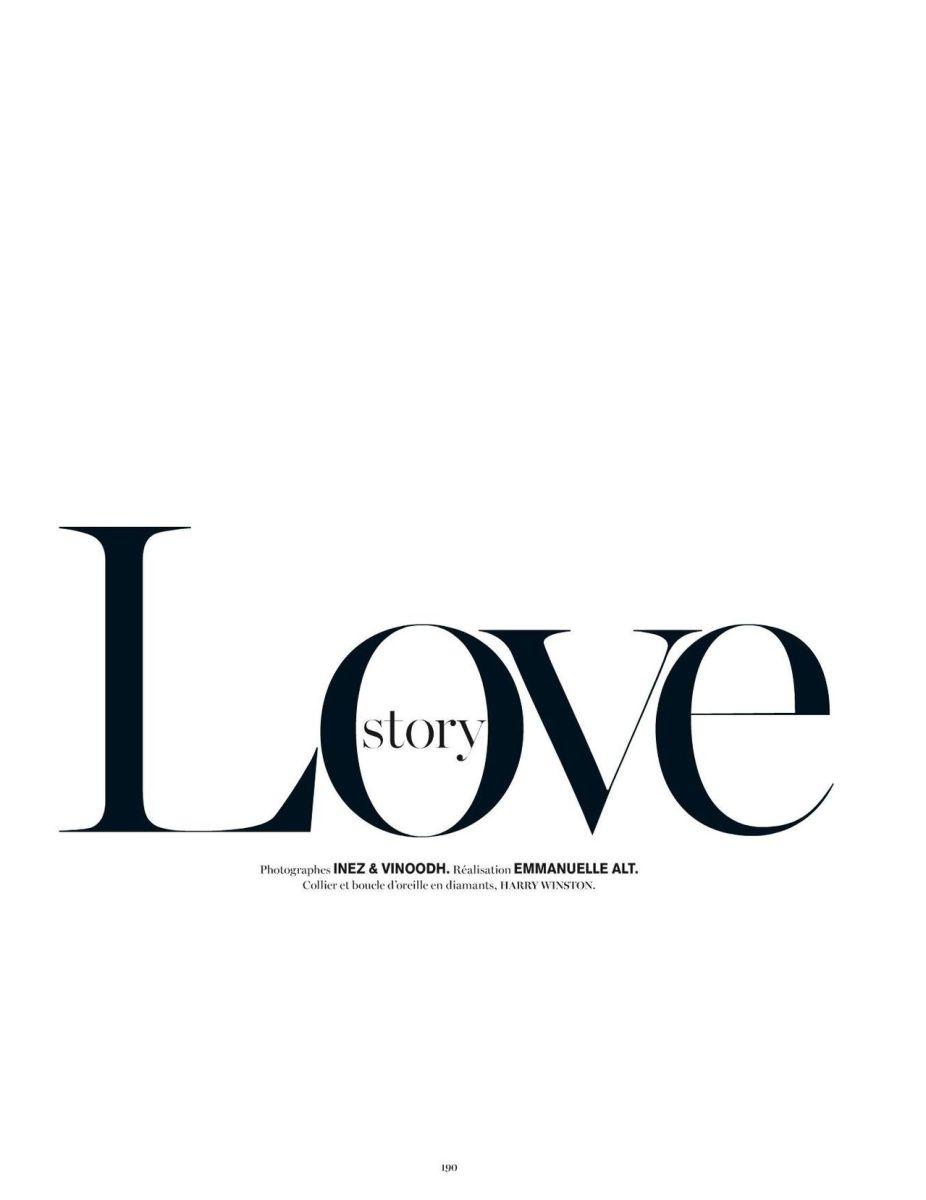 Vogue Paris December 2013/January 2014