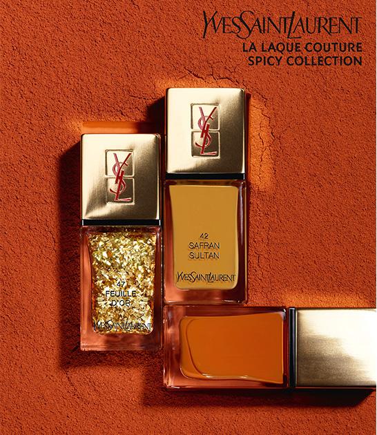 YSL La Laque Couture Spicy Collection