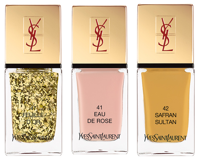 YSL La Laque Couture Spicy Collection