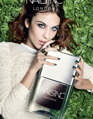 Alexa Chung for Nails Inc. ; photo by Rankin