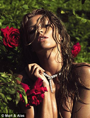 Gisele Bundchen naked for LUI Magazine June 2014 5