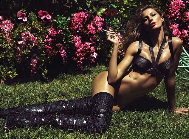Gisele Bundchen naked for LUI Magazine June 2014