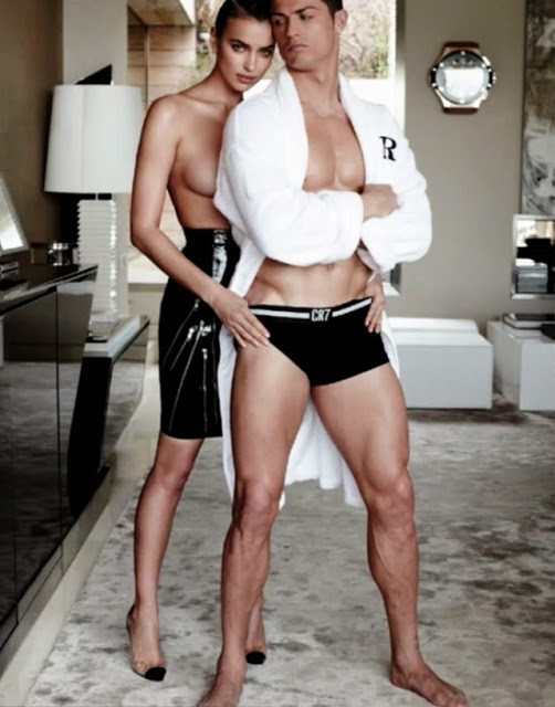 Irina Shayk & Cristiano Ronaldo for Vogue Spain June 2014