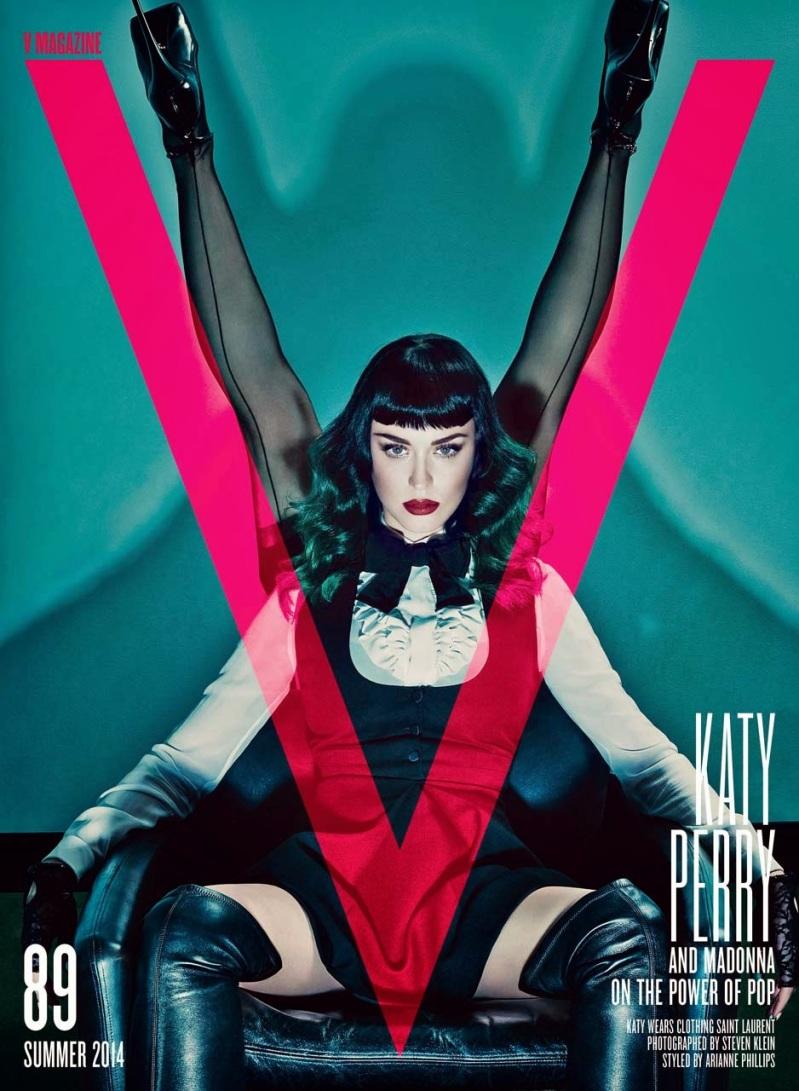 Katy Perry & Madonna for V Magazine Summer 2014